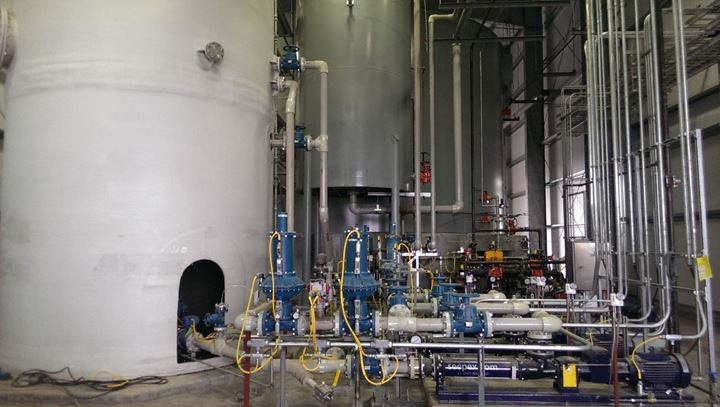 FGD Wastewater Treatment Center – Sulfate Removal